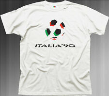 Italia 90 world cup cotton t-shirt 01348