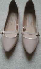 LADIES ATMOSPHERE LIGHT BROWN  BALLET PUMPS SIZE 5
