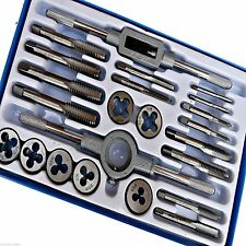 23 pc whitworth tap et die set garage main outil voiture Van métal garage
