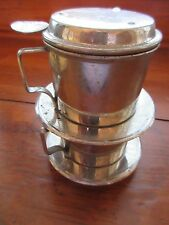 Vintage French Drip Coffee & Tea Maker lid filter