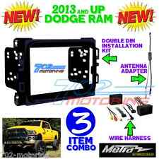 METRA 95-6518B DOUBLE DIN STEREO INSTALL DASH KIT DODGE RAM 2013 + 2014 INTERFAC