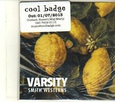 (DS12) Smith Westerns, Varsity - 2013 DJ CD