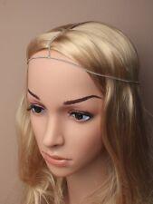 Boho Festival Hair Chains Head Piece Hair Jewellery Head Chains Gold Silver 4559