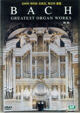 Bach DVD (Sealed)  ~ Greatest Organ Works (Hans Andre Stamm) *BRAND NEW*