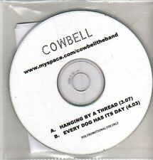 (CQ212) Cowbell, Hanging By A Thread - 2011 DJ CD
