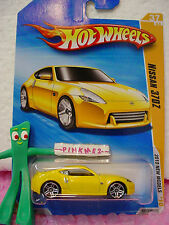 vhtf 2010 #42 Prem Hot Wheels NISSAN 370Z ❊variation Yellow pearl;pr5 ❊Premiere