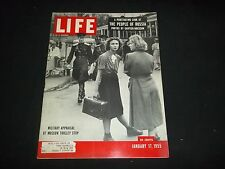 1955 JAN 17 LIFE MAGAZINE - MILITARY APPRAISAL - BEAUTIFUL FRONT COVER - GG 814