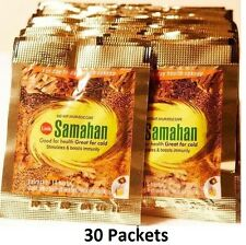 30 x Link SAMAHAN Ayurvedic Herbal Tea Packets Sri Lankan Natural Drink