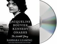 Jacqueline Bouvier Kennedy Onassis : The Untold Storyl Unabridged CD Hours *NEW*