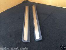 INFINITI G35 G25 G37 SEDAN 2007-2008 OEM FRONT LEFT AND RIGHT CHROME DOOR SILLS