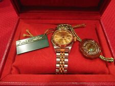 Ladies Rolex Oyster Perpetual Datejust Gold Silver Watch GM 79173