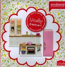 LUNDBY 60.2077.99 SMALAND Mobili Cucina Armadio spühle FORNELLO - 2 Set in 1 - 1:18