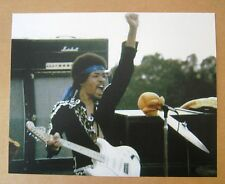 Rock & Roll JIMI HENDRIX  8x10  Color Photo with Mashall Amp
