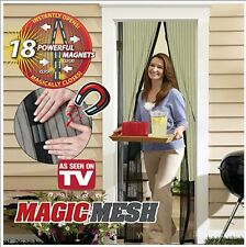 Magic Mesh Hands-Free Screen Door Magnetic Anti Mosquito Bug Great For Pets