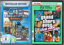 GTA Grand Theft Auto Vice City + 18 Wheels of Steel Gold Edition PC juegos