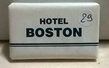 SAPONETTA HOTEL BOSTON - FIUGGI - RETTANGOLARE - INCARTATA gr. 15 - N. 29