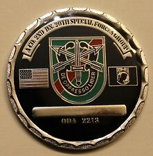 20th Special Forces Gp Airborne 2 BN A Co ODA 2213 ser#35 Army Challenge Coin