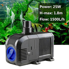1500L/h Submersible Aquarium Fountain Pond Marine Water Pump Fish Tank