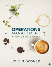 NEW - Operations Management: A Supply Chain Process Approach