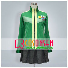 Cosonsen Persona 4 Chie Satonaka Cosplay Costume All Size Custom Made With Badge