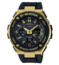 Casio G-Shock G-STEEL * GSTS100G-1A Solar Gold Steel Black Resin Ivanandsophia