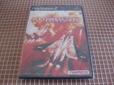 PS2 ACE COMBAT ZERO THE BELKAN WAR NAMCO NTSC JAP PLAYSTATION 2 SONY NEW SEALED