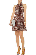 ELIZABETH AND JAMES 'Molly' Printed Halter Flare Dress Size 6 NWT $425