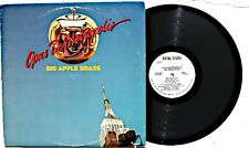 BIG APPLE BRASS: Opus De Metropolis LP ROYAL FLUSH RECORDS 5500 US 1983 WLP VG+