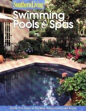 Swimming Pools & Spas (Southern Living (Paperback Sunset))-ExLibrary