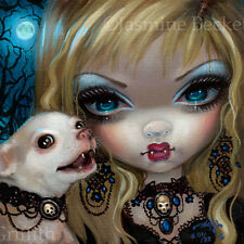 Vampire Chihuahua Faces of Faery 235 Jasmine Becket-Griffith art CANVAS PRINT