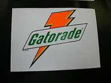 "6-1/2"" x 4-3/4"" GATORADE Decal OFFICIAL NASCAR RACING DECAL STICKERS Pack of 2"