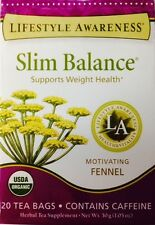Slim Balance Support Weight Health Herbal Tee, 20 Count