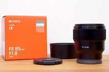 NEW SONY FE 85mm F1.8 85 mm F/1.8 SEL85F18 Mid-range Telephoto Prime Lens*Offer