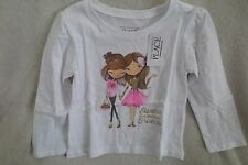 The Children Place Girl Toddler Long Sleeves Top Sister Are the Best Friends New