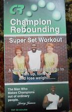 Champion Rebounding Workout Video Super Set New VHS Mini Trampoline Fitness