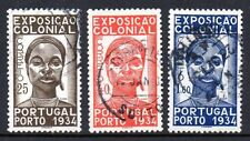 Portugal - 1934 Colonial exposition Mi. 578-80 FU