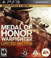Medal Of Honor: Warfighter - Limited Edition Battlefield 4 Beta Shooter PS3 NEW