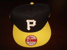PITTSBURGH PIRATES 5X CHAMPS RARE VINT BIG LOGO RETRO SCRIPT  HAT CAP SNAPBACK