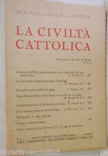 LA CIVILTA CATTOLICA 1958 Teresa D Avila diplomazia pontificia Sant Ambrogio di