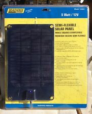 Solar Panel Trickle Charge Flexible 3 W Seachoice 14461 ATV Snowmobile Sailboat
