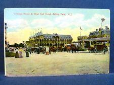 Postcard NJ Asbury Park Vintage View Coleman House & West End Hotel