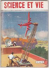 Science et Vie N°372 septembre 1948 radio aviation flotte de pêche  pub 4CV