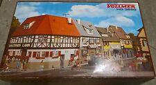 Vollmer 3650  1/87 H0 Bahnhofstr. 1-7, 4-tlg. Bausätze im Set  NEU & OVP