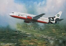 GO BOEING 737 EASY JET BRITISH AIRWAYS AIRLINER PRINT