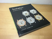 Magazine SOTHEBY'S - Important Watches - 6 October 2006 Hong Kong - English