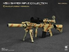 Easy & Simple 1/6 MK12MOD1C NSW Sniper Rifle Camouflage ES-06010C
