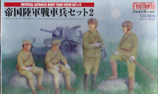 FINE MOLDS FM23 - IMPERIAL JAPANESE ARMY TANK CREW SET #2 1/35 - NUOVO