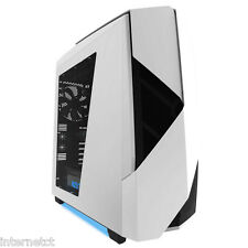 NZXT NOCTIS 450 LUCIDO BIANCO USB 3.0 Tower PC Gaming Computer Case & ventole di raffreddamento