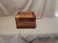 E.P.CARRILLO INCH NO.64 SLIDE TOP  WOOD CIGAR BOX