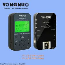 Yongnuo Wireless TTL YN622N-TX + YN-622N Kit HSS 1/8000 flash trigger for Nikon